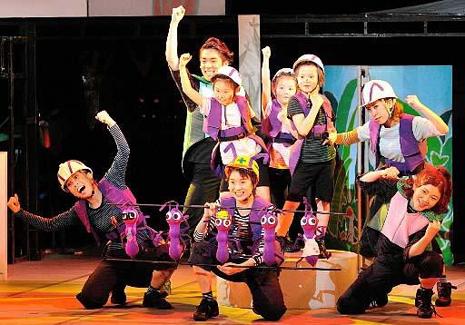 音楽劇で紡ぐ虫の一生 広島